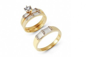 659x412px 10 Charming Cheap His And Her Wedding Ring Sets Picture in Jewelry