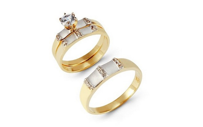 10 Charming Cheap His And Her Wedding Ring Sets in Jewelry
