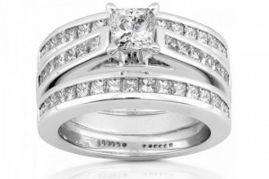 Jewelry , 9 Awesome Jared Wedding Sets : Wedding Ring Trio Sets