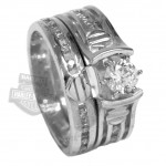 Wedding Set Silver Ring , 7 Unique Harley Davidson Wedding Ring Sets In Jewelry Category