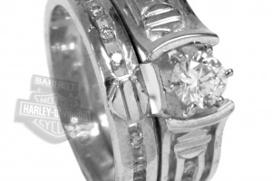 1001x1102px 7 Unique Harley Davidson Wedding Ring Sets Picture in Jewelry