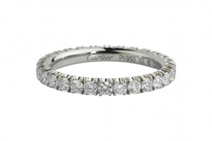 Jewelry , 9 Fabulous Cartier Wedding Bands For Women : Wedding band to go with cartier destinee