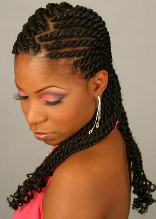 4 Popular Braided Black Hairstyles 2013 in Hair Style