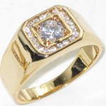 diamond ring , 10 Cool Mens Rings On Ebay In Jewelry Category