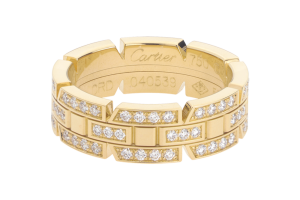 Jewelry , 9 Fabulous Cartier Wedding Bands For Women :  diamond ring designs