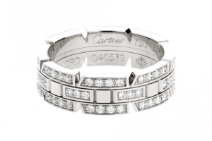 Jewelry , 9 Fabulous Cartier Wedding Bands For Women :  diamond wedding band