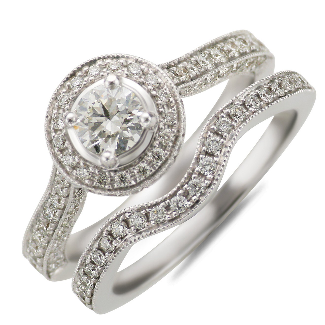 ebay diamond wedding ring sets 7 gorgeous rings - Wedding Rings Ebay