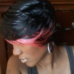 hairstyles pink highlights , 8 Popular Pictures Of Quick Weave Hairstyles In Hair Style Category