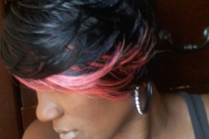 Hair Style , 8 Popular Pictures Of Quick Weave Hairstyles : hairstyles pink highlights