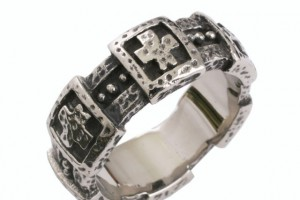 Jewelry , 11 Stunning Mens Rings Ebay : mens celtic cross ring