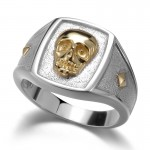 platinum finger ring , 9 Good Platinum Skull Ring In Jewelry Category