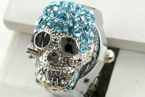 Jewelry , 5 Awesome Cheap Skull Rings For Men : ring ring watch men