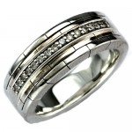 ring titanium , 11 Stunning Mens Rings Ebay In Jewelry Category