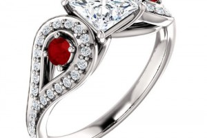 Jewelry , 9 Charming Men Engagement Rings Jared : ruby engagement rings jared