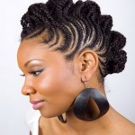 short hairstyles for black women , 10 Beautiful Braids For Short Black Hair In Hair Style Category