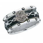silver wedding ring , 9 Stunning Harley Wedding Rings In Jewelry Category