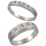 wedding ring his hers , 7 Gorgeous Ebay Wedding Rings Sets In Jewelry Category