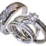 wedding ring sets , 10 Charming Cheap His And Her Wedding Ring Sets In Jewelry Category