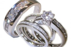 500x399px 10 Charming Cheap His And Her Wedding Ring Sets Picture in Jewelry