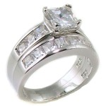 wedding rings sets , 10 Charming Cheap His And Her Wedding Ring Sets In Jewelry Category