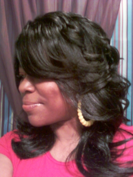 6 Lovely Feather Hair Styles Black Women in Hair Style