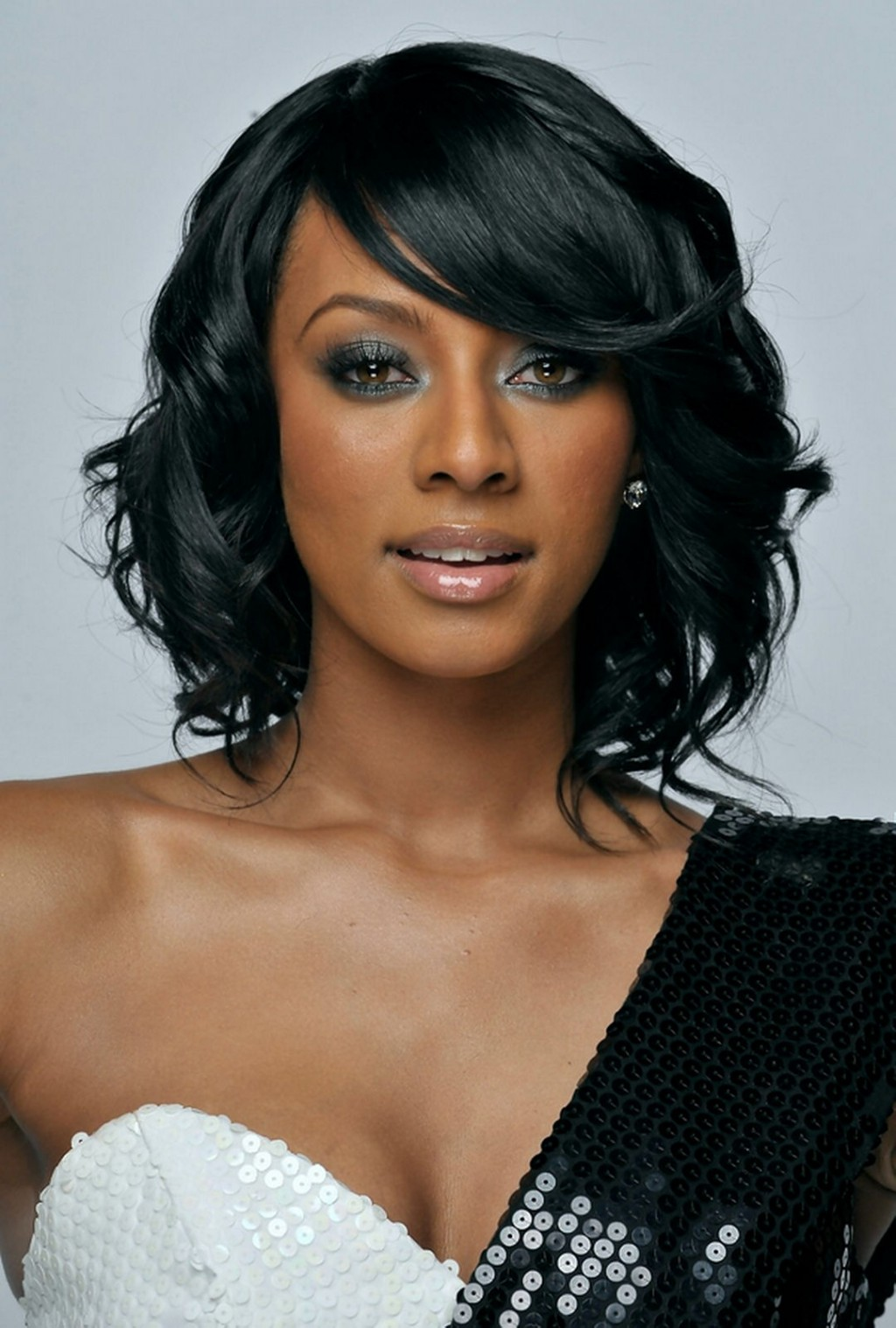 Bob Layered Hairstyles For Women African American Wallpaper Woman Fashion