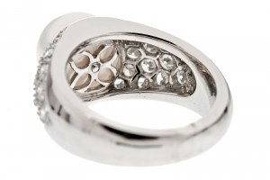 Jewelry , 5 Cool Harry Winston Mens Wedding Rings : Harry Winston Pearl Diamond Platinum Ring