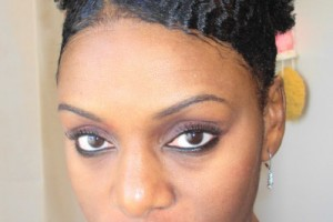 Hair Style , 11 Awesome Short Haircuts For Natural Hair : short natural hair style afro puff