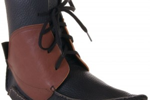 Shoes , Wonderful Moccasin Boots Product Ideas : Awesome brown Leather moccasin boots Product Lineup