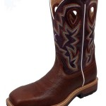 Awesome Brown Cowboy Boots Men , Charming Purple Cowboy Boots Product Image In Shoes Category