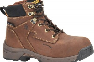 Shoes , Fabulous Womens Work Boots Collection : Awesome  brown womens leather work boots