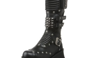 Shoes , Popular Goth Boots Product Lineup : Beautiful black  platform boots Collection