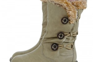 Shoes , Gorgeous Warmest Womens Winter Boots Collection : Beautiful grey winter boots sale Product Picture