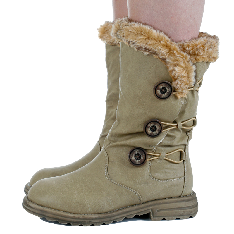 Gorgeous warmest womens winter boots Collection : Woman Fashion
