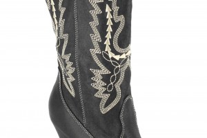 Shoes , Awesome Cowgirl Bootsproduct Image : Black Adult Cowgirl Boots product Image