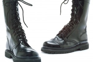 Shoes , Fabulous  Target Combat Boots Product Picture : Black Combat Boots Adult Shoes Product Picture