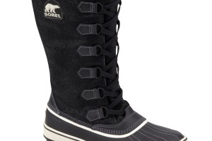 Shoes , Gorgeous  Sorel Boots Product Lineup : Black Sorel Tivoli High Boots Product Picture