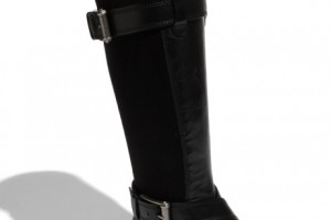 Shoes , Stunning Cole Haan Nike Air Black Leather Boots Collection : Black  cole haan and nike product Image