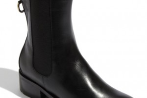 460x515px Stunning Cole Haan Nike Air Black Leather Boots Collection Picture in Shoes