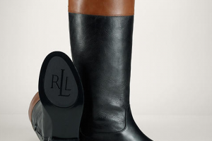 Shoes , Charming Ralph Lauren Riding Boots Dsw Image Gallery : Black  ralph lauren boots mens Picture Collection