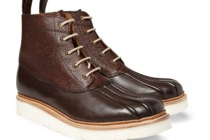 Shoes , Beautiful  Duck Boots product Image : Brown Grenson Duck Boot Product Picture