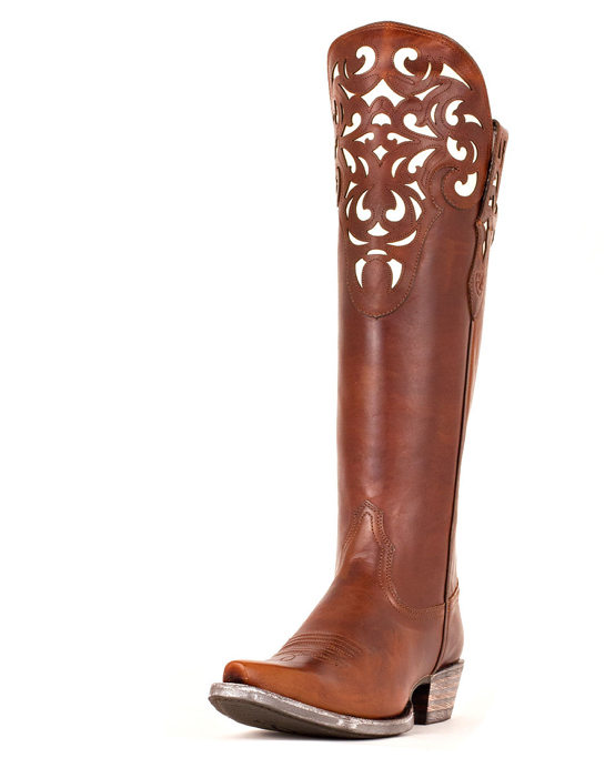 Shoes , Gorgeous Boots For Big CalvesPhoto Gallery :  Brown Cowboy Boots For Big Calves Image Collection