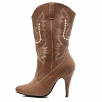 Brown  girls cowgirl boots Collection , Awesome Cowgirl Boots product Image In Shoes Category