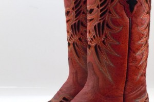 Shoes , Charming Wide Calf Cowboy Boots For Women Photo Gallery : Brown  wide calf cowboy boots womens Photo Collection