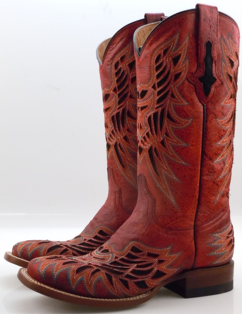 Brown Wide Calf Cowboy Boots Womens Photo Collection : Charming