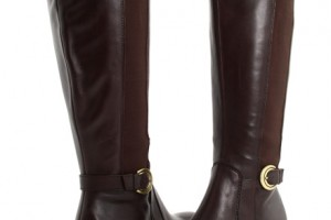 Shoes , Gorgeous Boots For Big CalvesPhoto Gallery : Brown  wide calf riding boots Photo Collection