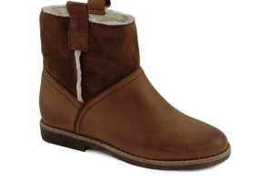 Shoes , Charming  Fur Lined Womens Boots product Image : Brown  womens fur boots