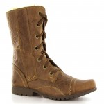 Brown  womens leather boots , Charming  Fur Lined Womens Boots product Image In Shoes Category