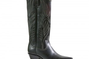 Shoes , Awesome Leather Boots For Women Product Picture : Charming black  motorcycle boots women