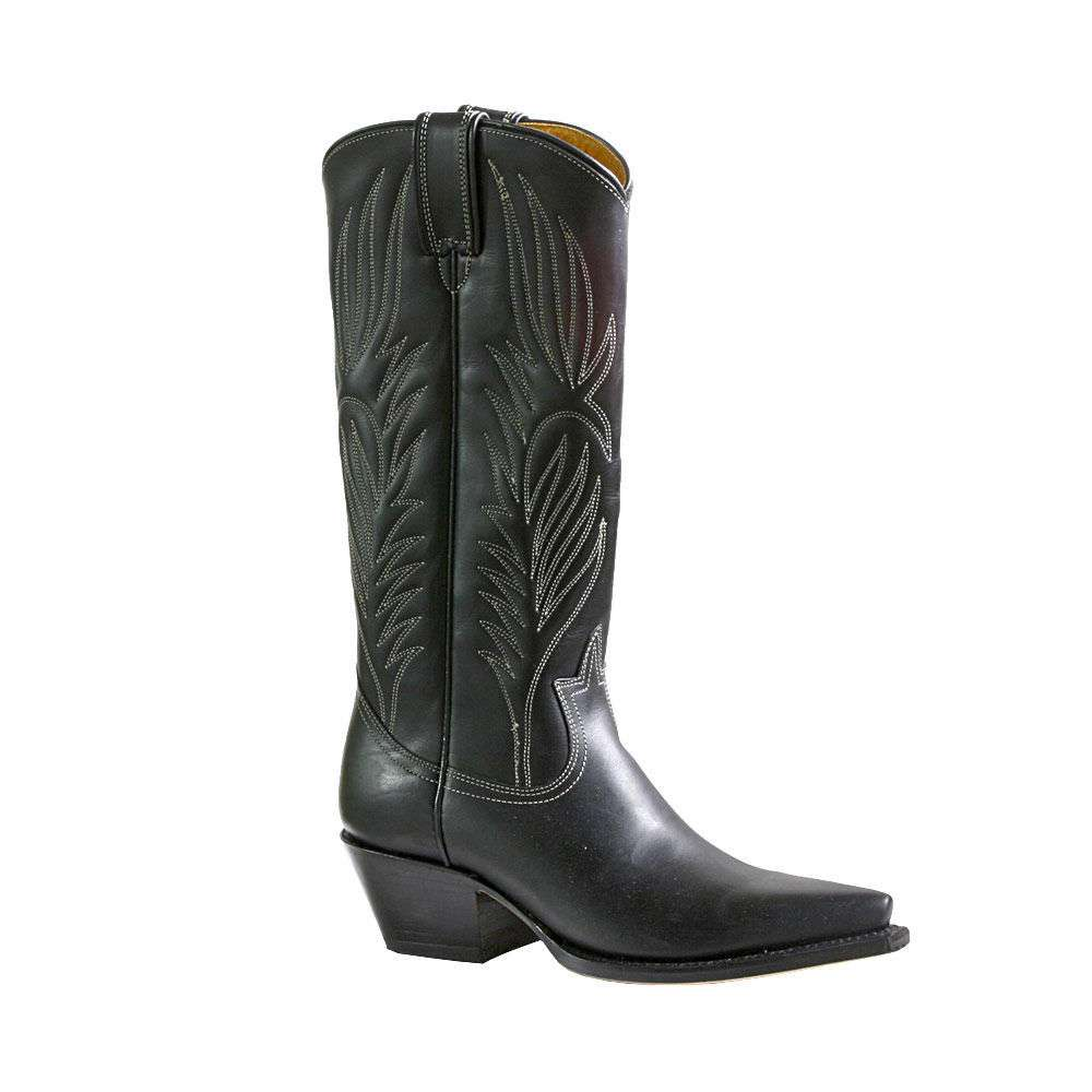 Cheap Black Cowboy Boots For Women - Yu Boots